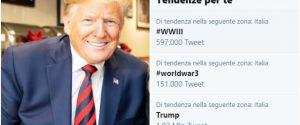 Ucciso Soleimani, su Twitter impazza l'hashtag WWIII: allarme terza guerra mondiale