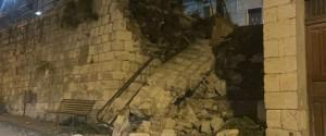 Un albero caduto a Petralia Soprana