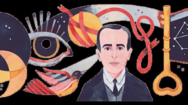 doodle di google, Vicente Huidobro, Sicilia, Cultura