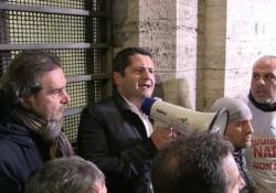 Whirlpool, Bentivogli: «Il governo non sta facendo nulla» Marco Bentivogli alla fine del vertice con azienda, sindacati e governo - Ansa