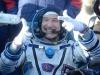 Luca Parmitano al suo rientro sulla Terra (fonte: ESA)