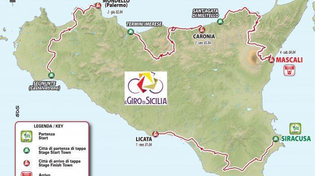 ciclismo, giro di sicilia, Sicilia, Sport