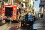 Incendio in un appartamento a Catania, giovane rimane ferito