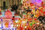 Entra nel vivo il Carnevale di Acireale: sfilate di carri allegorici e spettacoli