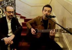 Diodato al Corriere, l'esibizione live del vincitore di Sanremo Il cantautore: «Cantavo gli U2 in cameretta» - Corriere Tv