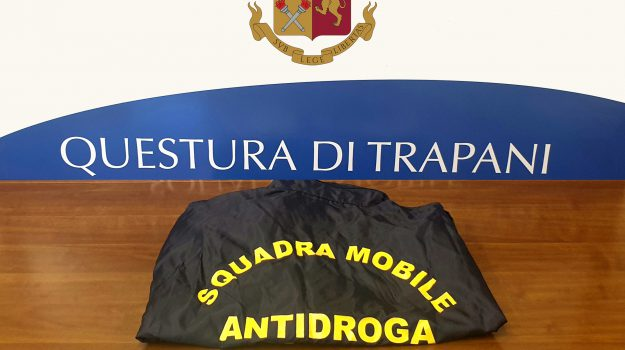droga, polizia, Trapani, Cronaca