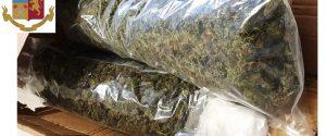 Caltanissetta, oltre tre chili di droga in auto: arrestato sorvegliato speciale