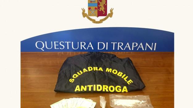 droga, Trapani, Cronaca
