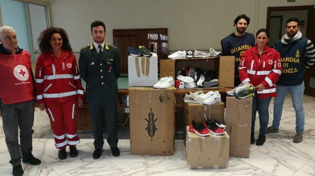 Croce Rossa italiana, guardia di finanza, Palermo, Cronaca