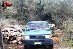 San Michele di Ganzaria, rubano legname: 2 denunce