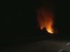 Incendio sulla Palermo-Sciacca, il video delle fiamme vicino alla statale