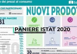 Inflazione, aggiornato il paniere Istat 2020 Dentro auto elettriche e pasti a domicilio - Ansa