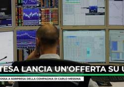 Intesa lancia un'offerta su Ubi Banca La mossa a sorpresa della compagnia di Carlo Messina - Ansa