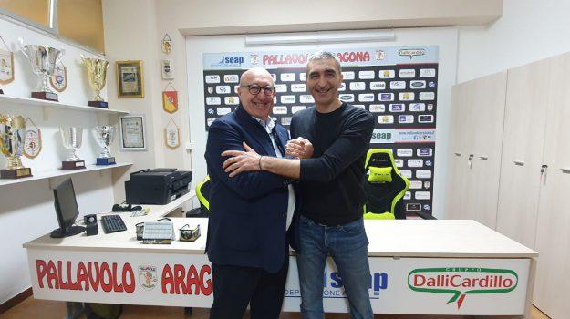 pallavolo, Seap Dalli Cardillo Aragona, Luca Secchi, Massimo Dagioni, Agrigento, Sport