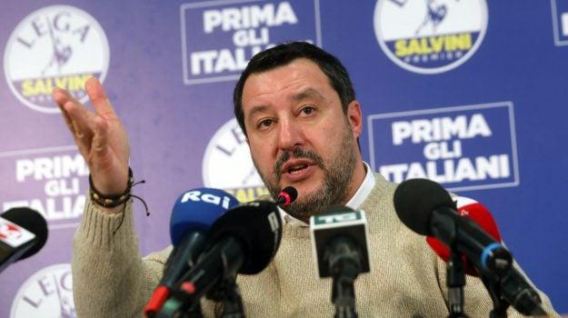 Lega, migranti, Matteo Salvini, Catania, Politica