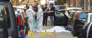 Indagini in via Togliatti a Belmonte Mezzagno dopo l'omicidio