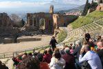 Taormina, record di turisti al Parco Archelogico