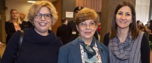 Le ricercatrici Concetta Castilletti, Maria Rosaria Capobianchi e Francesca Colavita