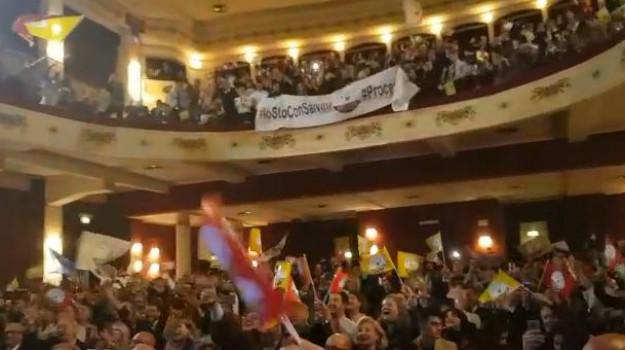 Matteo Salvini, Palermo, Politica