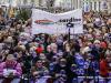 Sardine, migliaia in piazza a Roma contro i decreti sicurezza: critiche a Di Maio e Pd