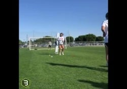 Usa, Alex Morgan si allena al settimo mese di gravidanza Alex Morgan mostra come per le donne nel calcio non esistono limiti - Dalla Rete