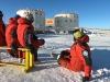 Gli italiani che fanno parte dellequipaggio della base antartica Concordia (fonte: PNRA)