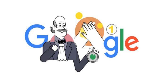 coronavirus, doodle di google, sanità, Ignaz Semmelweis, Sicilia, Società