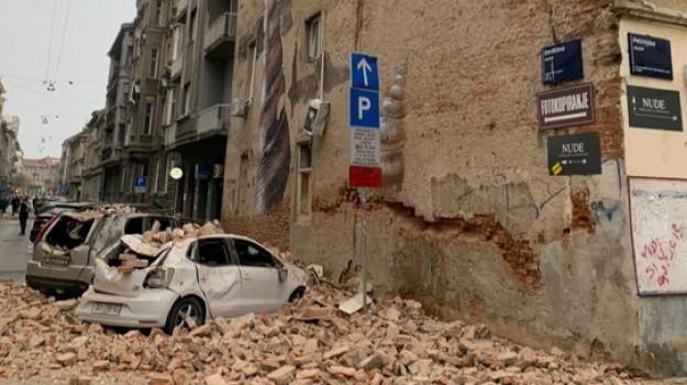 terremoto, zagabria, Sicilia, Mondo