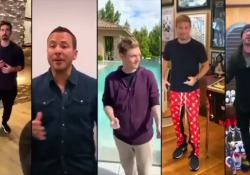 Backstreet Boys: la reunion virtuale fa impazzire i fan  - Corriere Tv