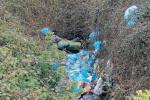 Scoperta nuova discarica a Baronessa: allarme ambientale nel bosco ennese