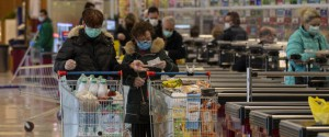 Coronavirus: code per entrare in supermercato