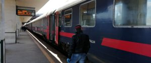 I controlli alla stazione di Messina