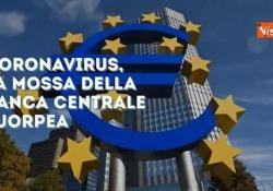 Coronavirus, dalla Bce piano da 750 miliardi di euro  La Banca centrale europea reagisce di fronte al crollo delle Borse e al rialzo degli spread - Corriere Tv