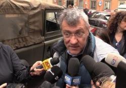 Coronavirus, Landini: «La sanità privata faccia la sua parte» Il segretario CGIL arrivando alla sede del Pd per l'incontro con Zingareti - Ansa