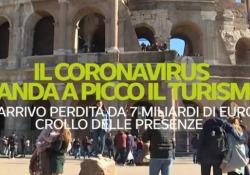 Crollano le presenze, gli effetti del coronavirus sul turismo: in tre mesi perdite per 31 milioni di euro In arrivo una perdita da 7 miliardi di euro, crollo delle presenze - Ansa