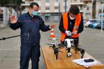 Messina, De Luca prova i droni per scovare chi vìola i divieti per il coronavirus