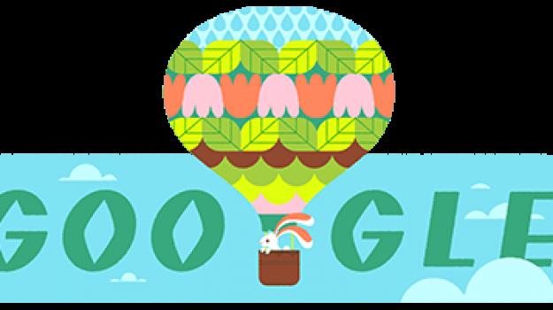 doodle di google, PRIMAVERA, Sicilia, Società