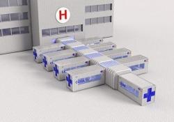 Il progetto italiano: i container diventano unità di terapia intensiva Si chiama «CURA» (Connected Units for Respiratory Ailments), il progetto che utilizza container riconvertiti per creare unità di terapia intensiva pronte all'uso - Dalla Rete