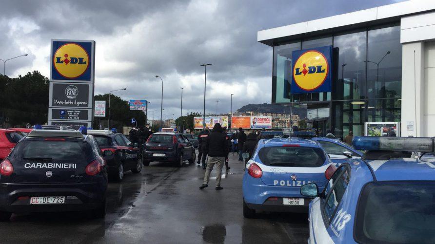 Il supermercato Lidl di viale Regione Siciliana