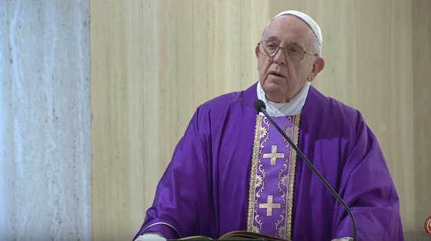 coronavirus, discorso del Papa, Papa Francesco, Papa Francesco, Sicilia, Cronaca