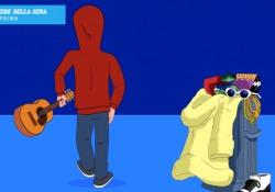 The Andre, in anteprima il video del singolo «Captatio Benevolentiae» Il cantautore diventato popolare grazie alle cover di pezzi trap cantati alla De André si avvia verso un nuovo percorso artistico - CorriereTV