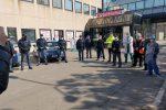 Enna, la polizia offre la colazione a medici e infermieri dell'ospedale Umberto I