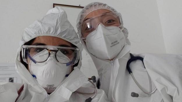 coronavirus, Daniela Faraoni, Erika Portera, Maria De Le, Palermo, Cronaca