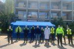 Caltanissetta, al Santabarbara Hospital allestita una tenda per il pre-triage