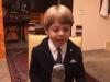 """Bimbo compie 6 anni e il suo discorso diventa virale: """"Oh, ma non sembro Giuseppe Conte?"""""""