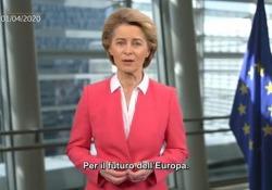Coronavirus, von der Leyen presenta «SURE», l'iniziativa contro la disoccupazione Nuovo strumento dell'Unione Europea per far fronte all'emergenza economica - Ansa