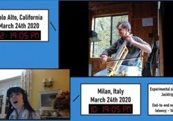 Ecco il software che permette di suonare insieme a migliaia di chilometri di distanza Il progetto di ricerca del Politecnico di Torino, insieme a quello di Milano e all'università di Stanford - Corriere Tv