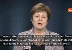 Fmi: «La peggior crisi dai tempi della Grande depressione» Le parole di Kristalina Georgieva, la direttrice generale del Fondo monetario internazionale - Agenzia Vista/Alexander Jakhnagiev
