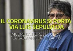 Il coronavirus si porta via Luis Sepulveda, la biografia Muore l'autore del libro «La gabbianella e il gatto» - Ansa
