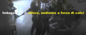 Un frame del video diffuso dalla guardia di finanza
